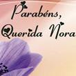 Aniversário de Nora Mensagens e Frases