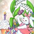 Aniversário na Páscoa