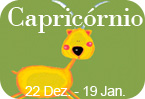 Capricórnio 22 Dezembro - 19 Janeiro