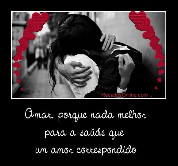 Amar, porque nada melhor para...
