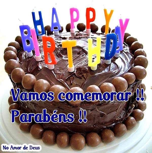Happy Birthday Vamos comemorar!! Parabéns!!