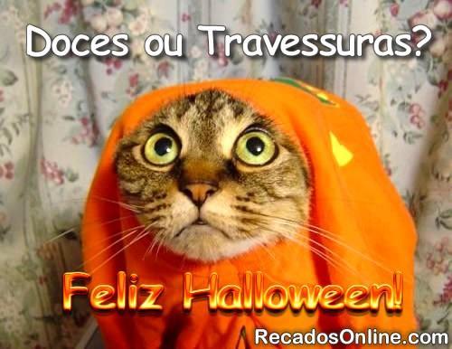 Doces ou Travessuras? Feliz Halloween!