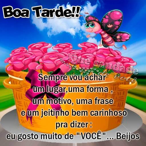 Boa Tarde Amor Imagem 1
