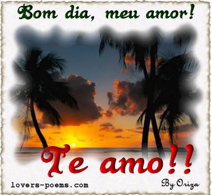Bom Dia Amor - Imagens e Mensagens para Facebook