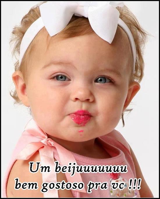 Um beijo bem gostoso pra você!