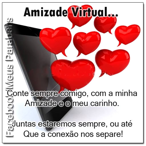 Amizade Virtual Imagem 1