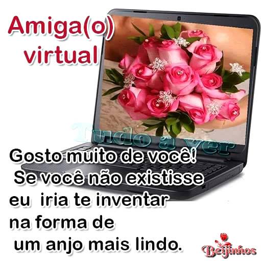 Amizade Virtual imagem 3