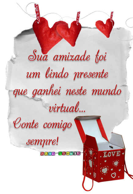 Amizade Virtual Imagem 9