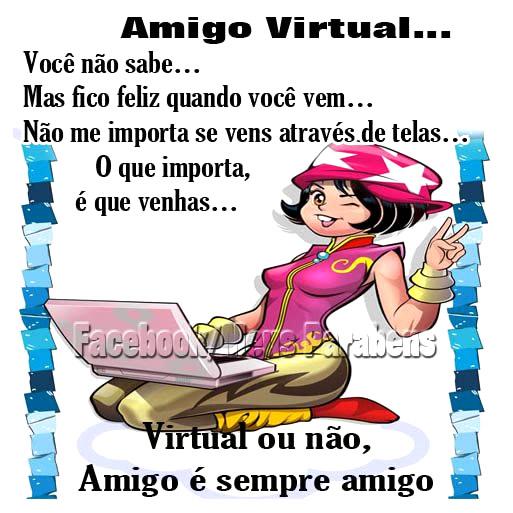 Amizade Virtual imagem 10