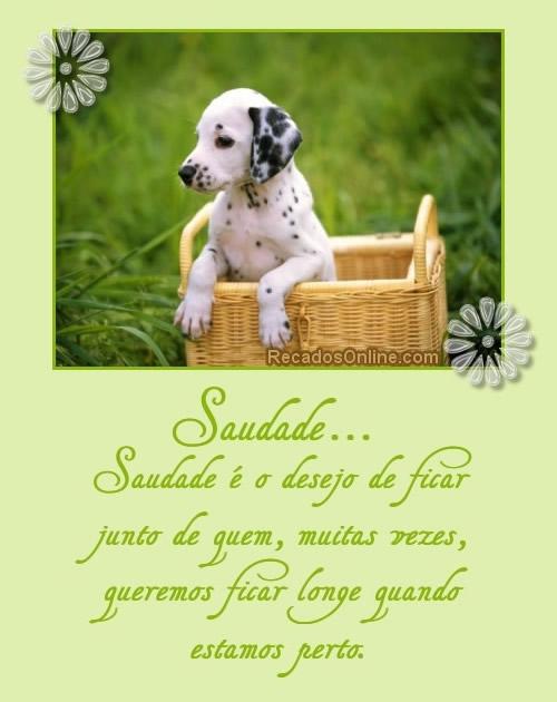 Saudade Imagem 3