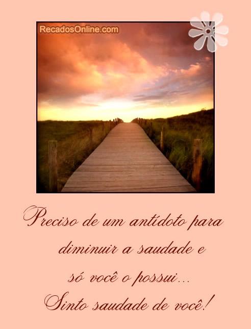 Saudade Imagem 5