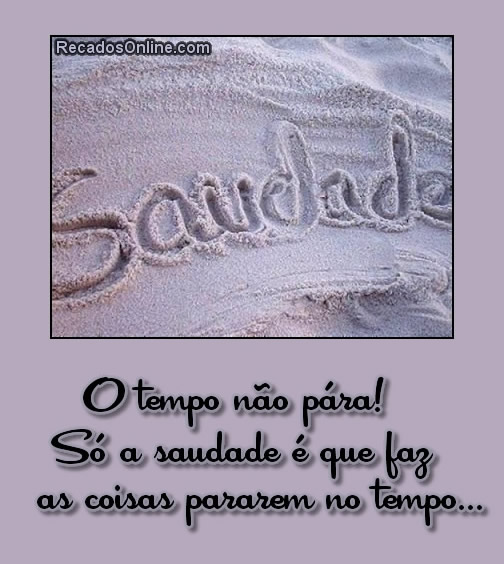 Saudade Imagem 7