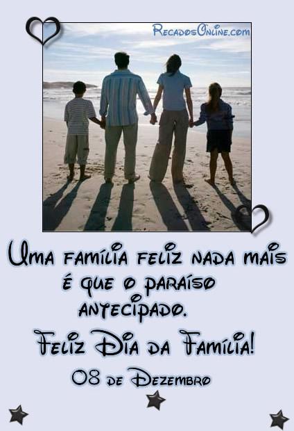 Uma família feliz nada...
