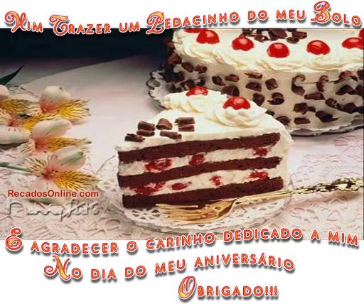 Obrigado pelo Parabéns Imagem 5