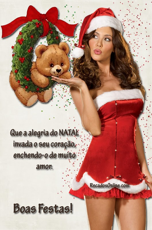 Que a alegria do Natal invada...