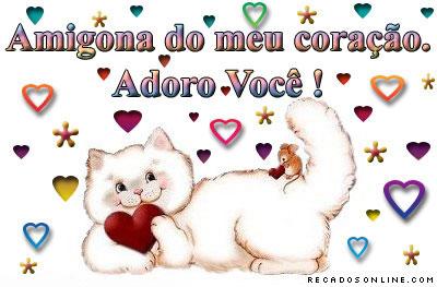 Recado Para Orkut - Amigo do Coração: 4