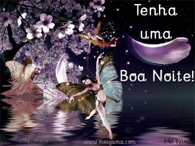 Tenha uma boa noite!