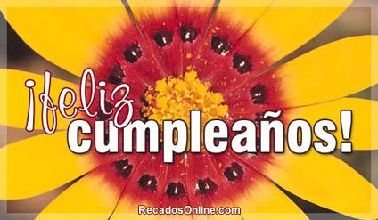 Feliz Aniversário em Espanhol