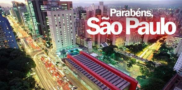 Parabéns, São Paulo