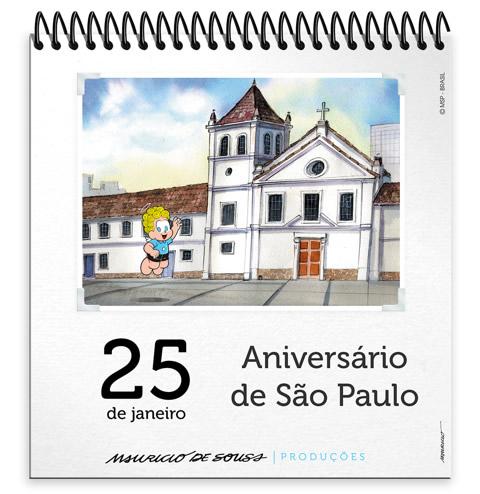 25 de Janeiro Aniversário de São Paulo