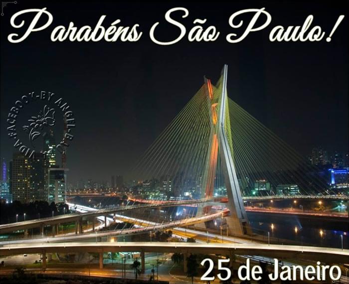 Parabéns São Paulo! 25 de Janeiro