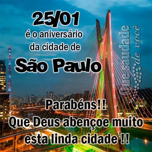 Aniversário de São Paulo Imagem 2