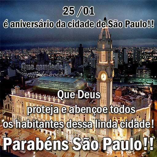 Aniversário de São Paulo Imagem 1