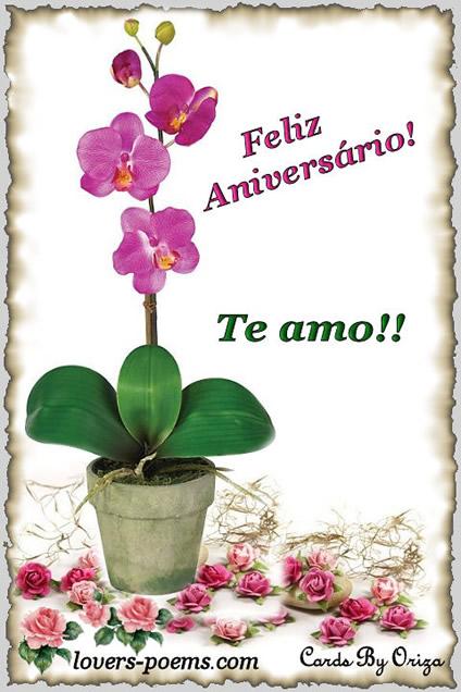 Feliz Aniversário Amor Imagem 6