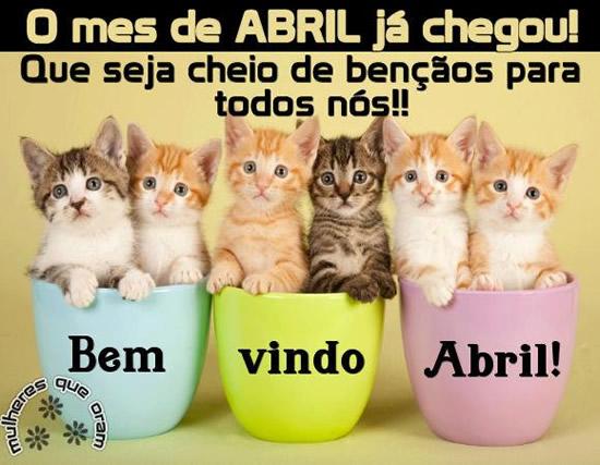 Bem Vindo Abril Imagem 8