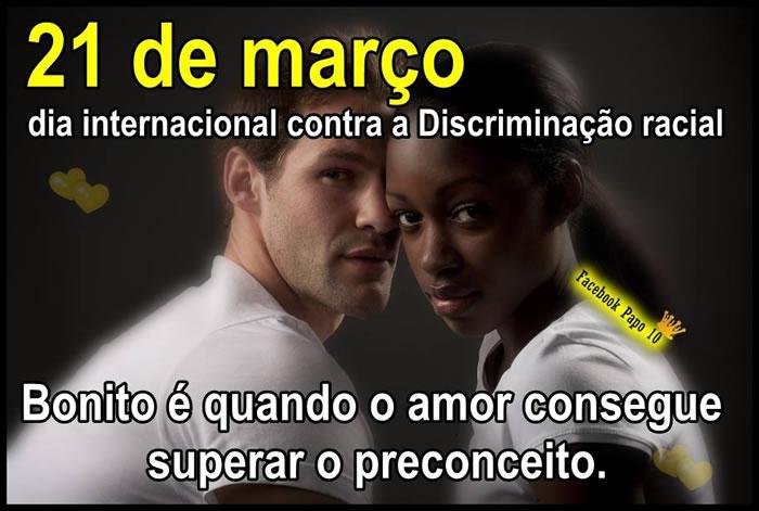 Dia Contra a Discriminação Racial Imagem 2