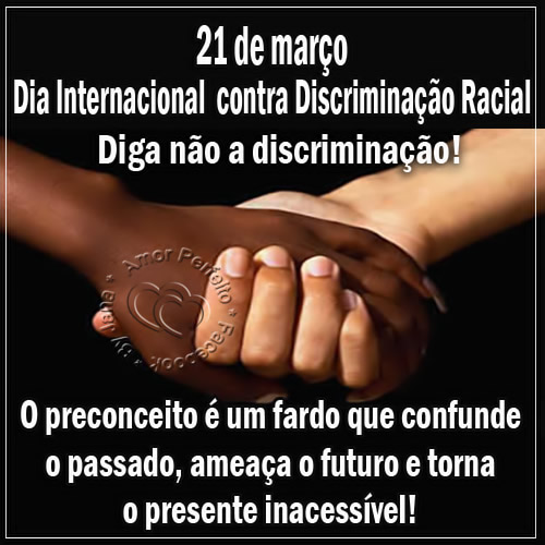 Dia Contra a Discriminação Racial imagem 3