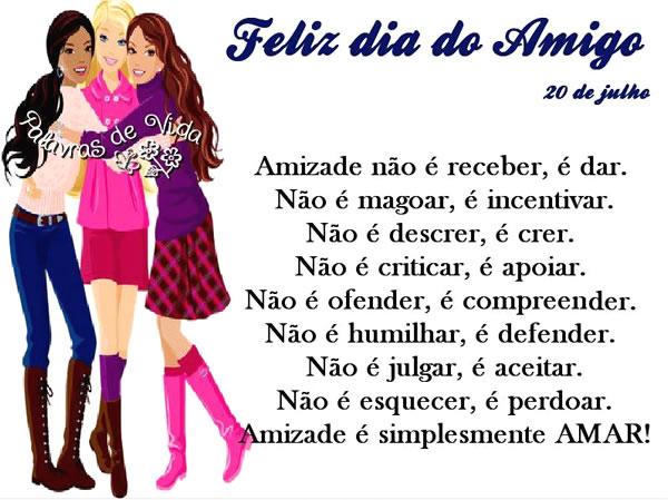 Frases De Dia Do Amigo: Imagens E Mensagens Para Facebook (Página 2