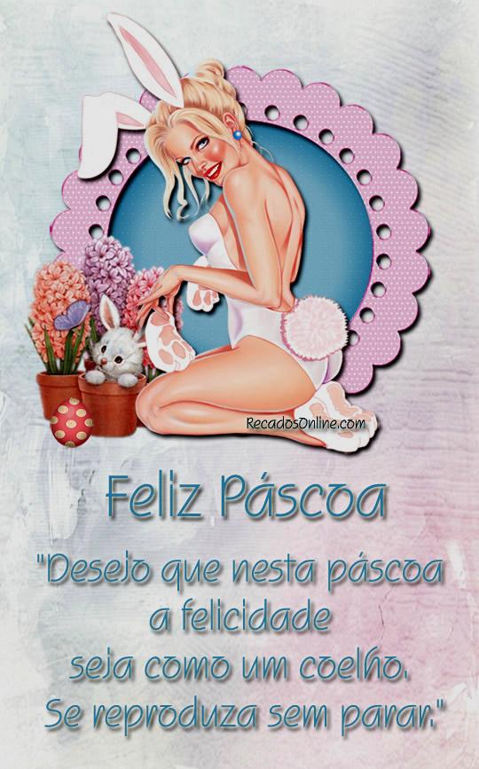 Feliz Páscoa Desejo que...