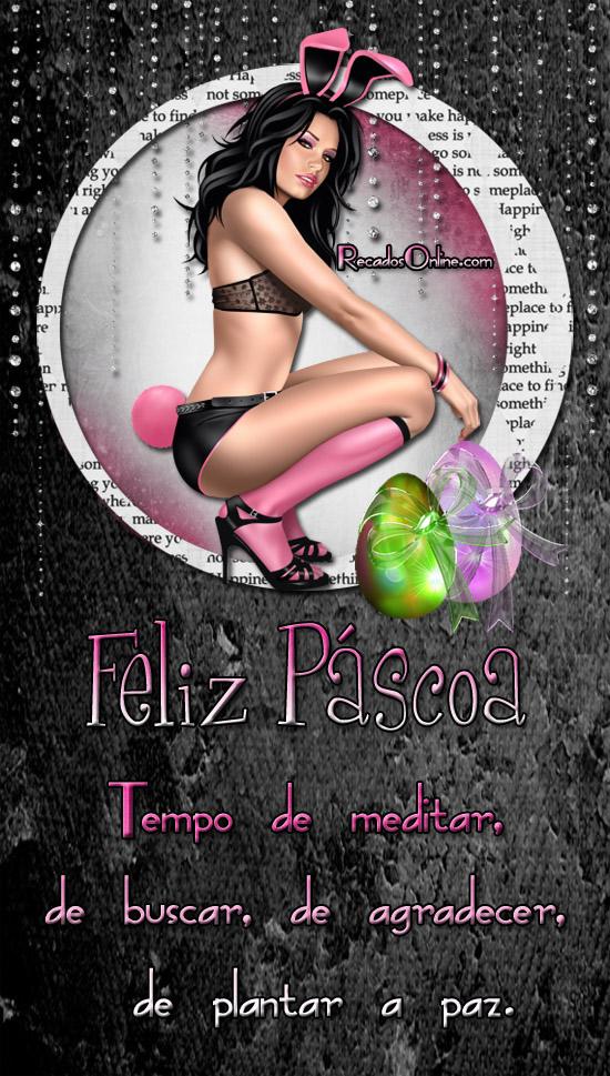Feliz Páscoa Tempo de...