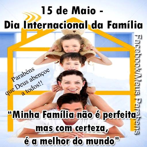 Dia Internacional da Família Imagem 8