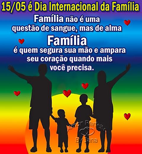 Dia Internacional da Família Imagem 1