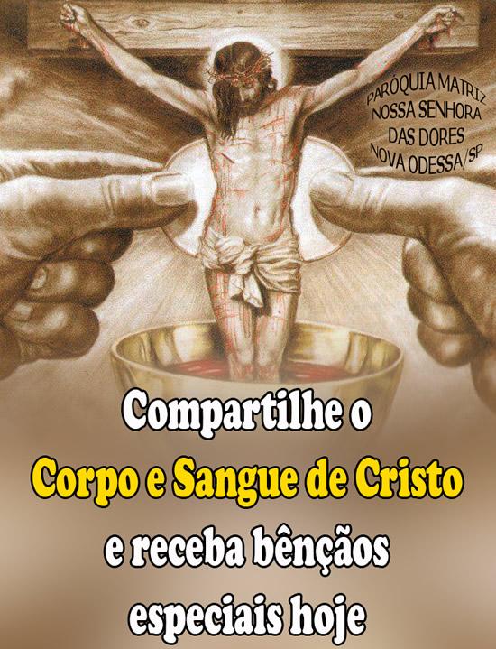 Dia de Corpus Christi Imagem