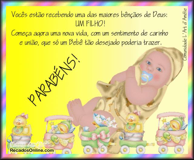 Parabéns pelo Bebê Imagem 1