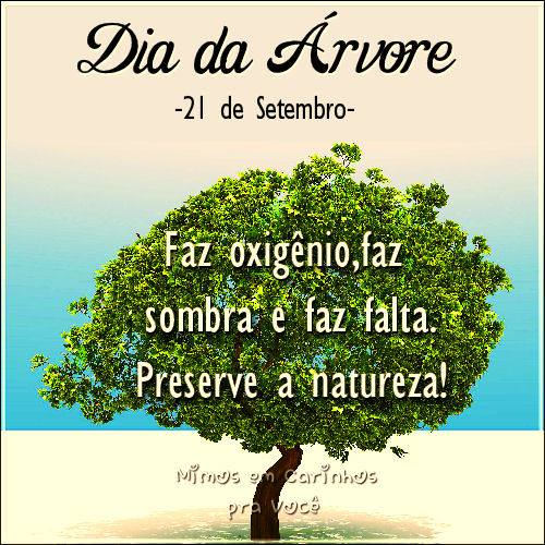 Dia da Árvore Imagem 1