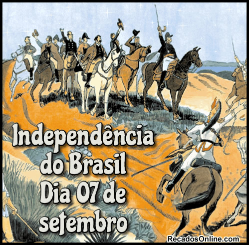 Independência do Brasil...