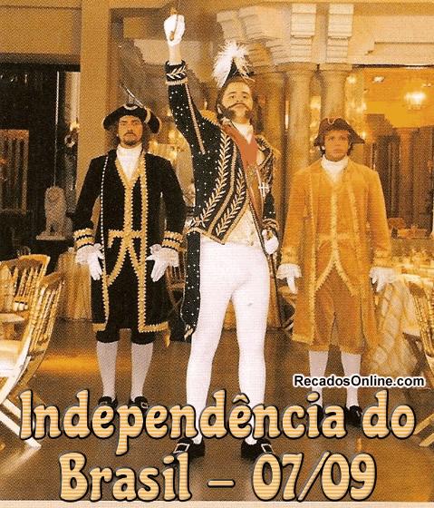 Independência do Brasil - 07/09.