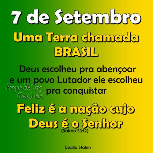 Resultado de imagem para mensagem para o dia da patria 7 de setembro para facebook
