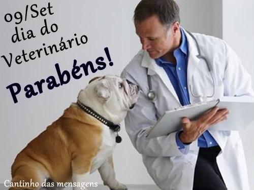 09/Set Dia do Veterinário. Parabéns!