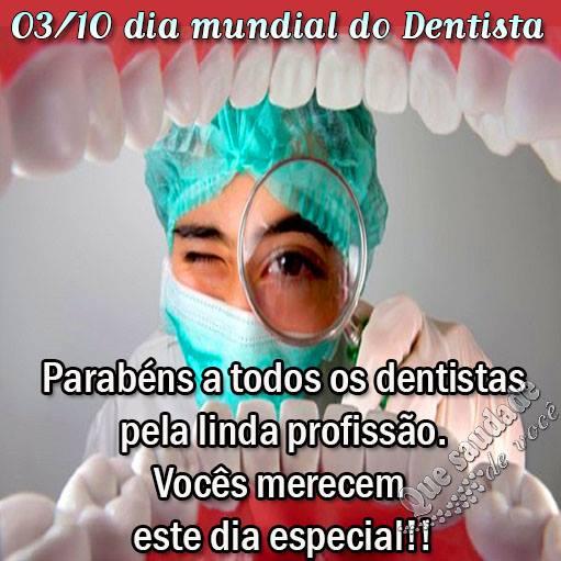 Dia Mundial do Dentista Imagem 1