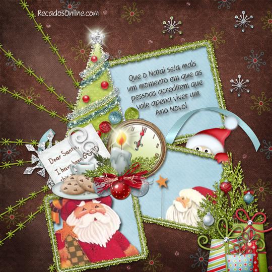 Que o Natal seja mais um...