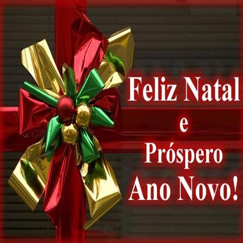Mensagem de natal e ano novo - Feliz natal e próspero ano