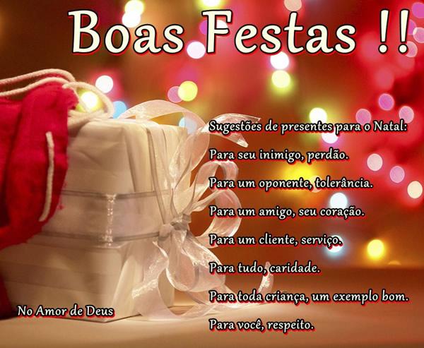 Boas Festas Imagem 1