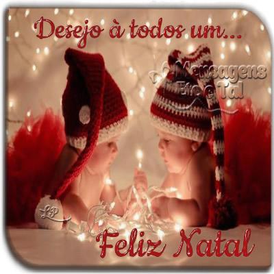 Desejo a todos um... Feliz Natal