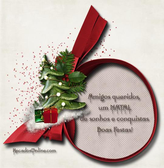 Amigos queridos, um Natal de...