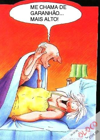 Humor com Velhinhos